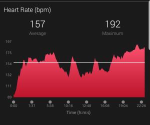 Initial run heart rate